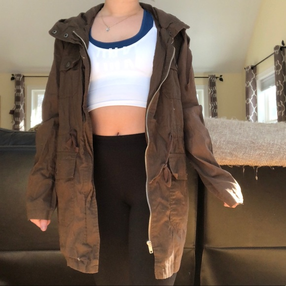 Urban Outfitters Jackets & Blazers - Brown utility jacket 🙈